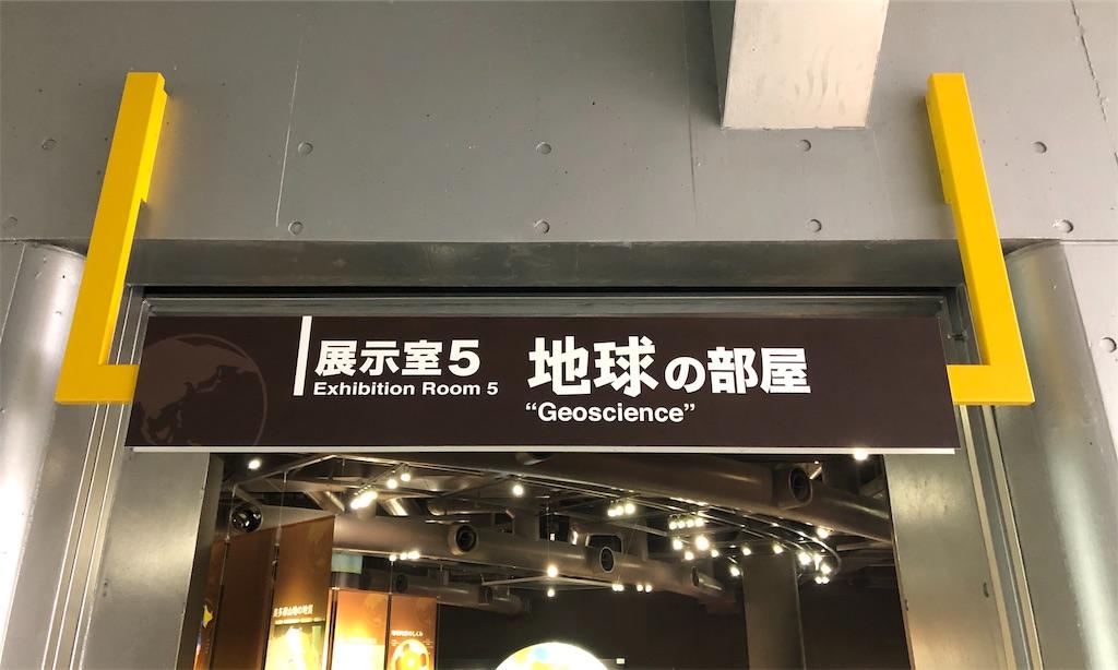 多摩六都科学館 地球の部屋
