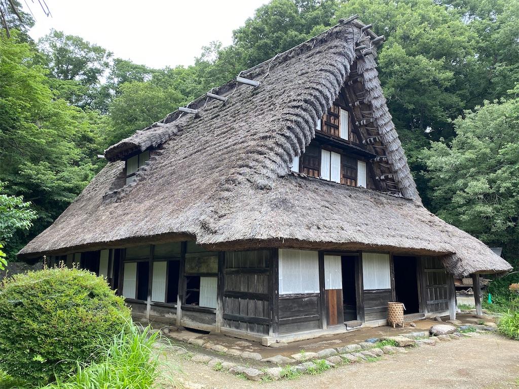 日本民家園 旧江向家住宅