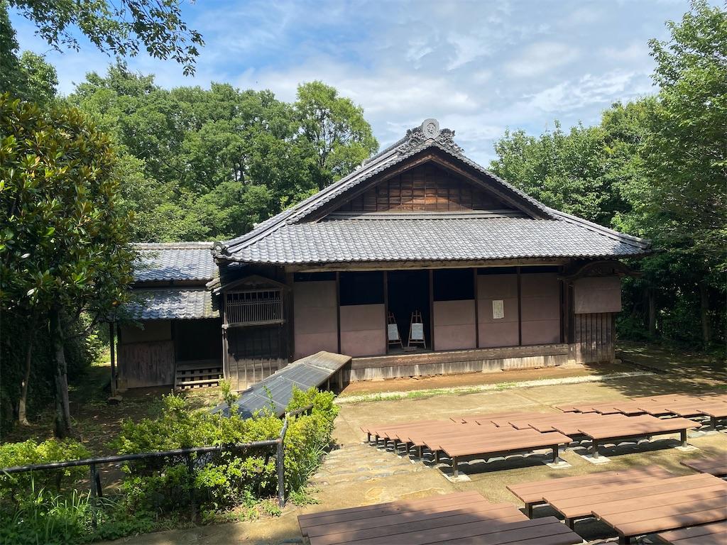 日本民家園 船越の舞台