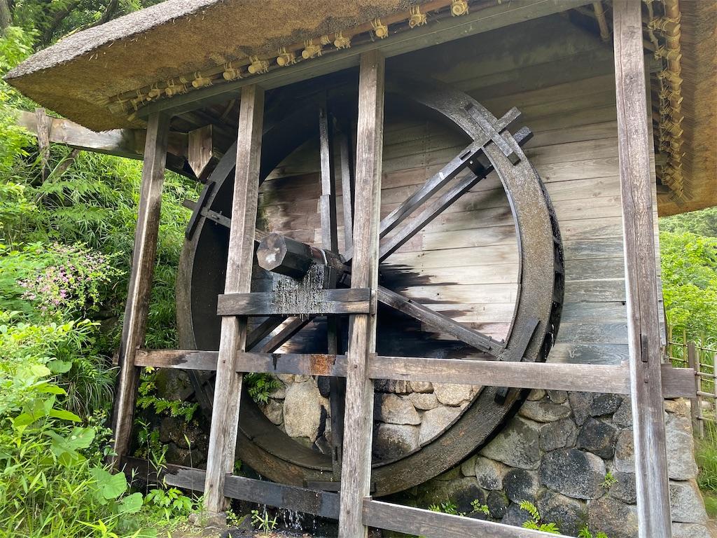 日本民家園 水車小屋