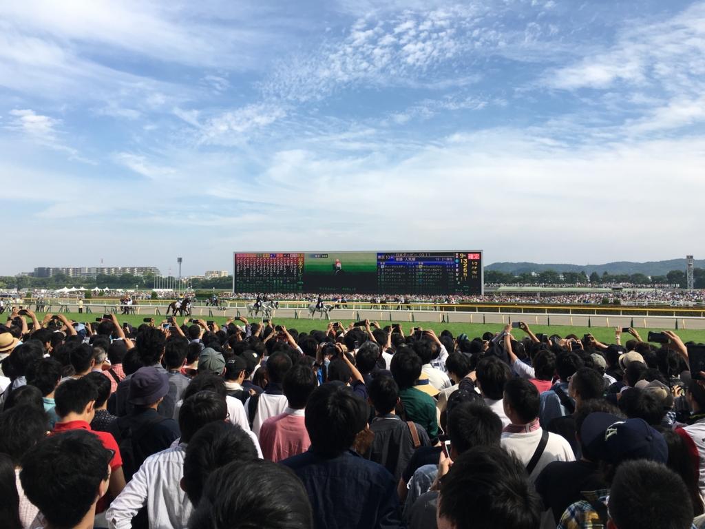 東京競馬場第83回東京優駿日本ダービー2016年5月29日10レース目