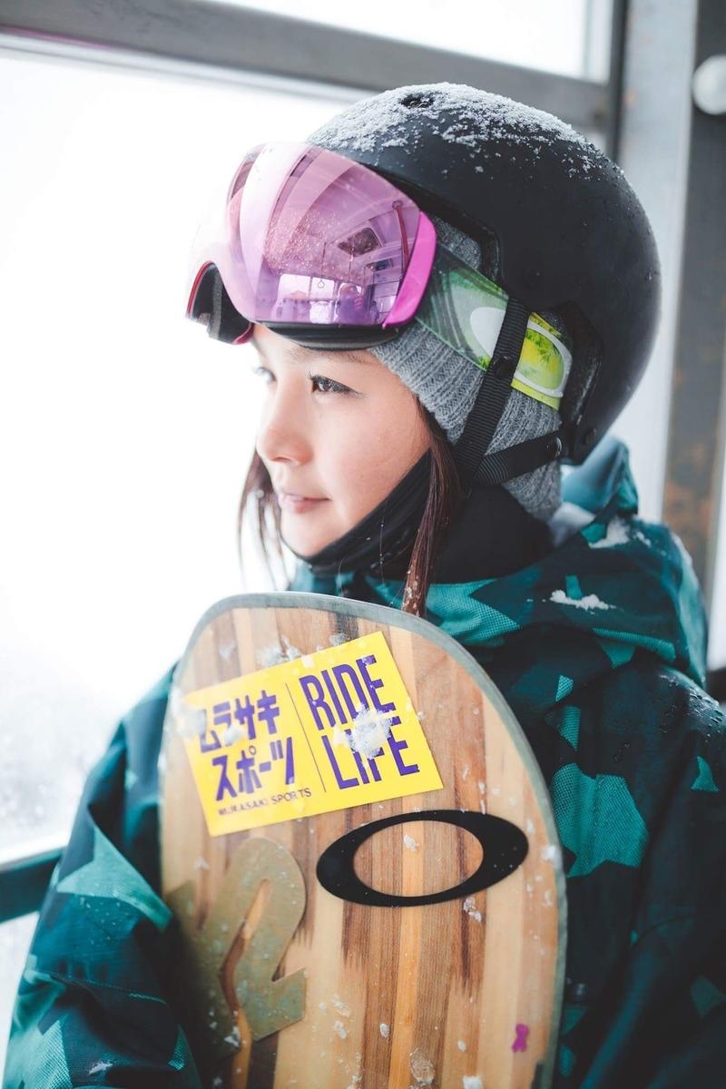 田中幸プロスノーボーダーの写真