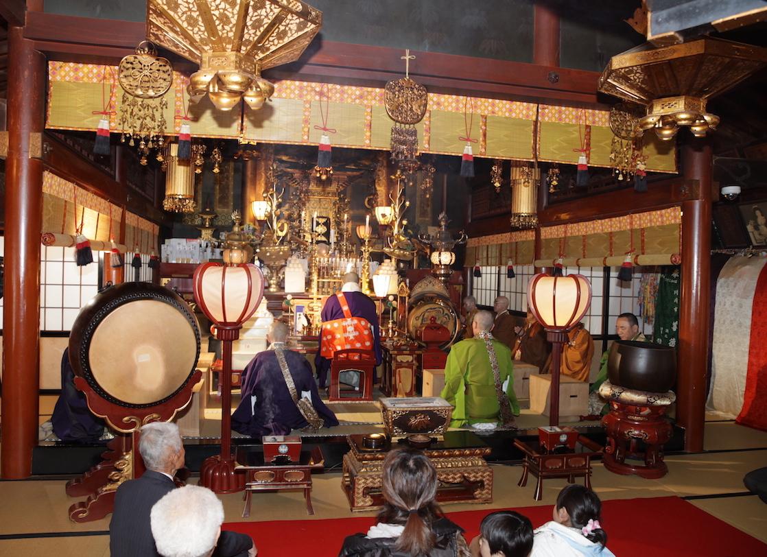北向観音・常楽寺にて仏前結婚式