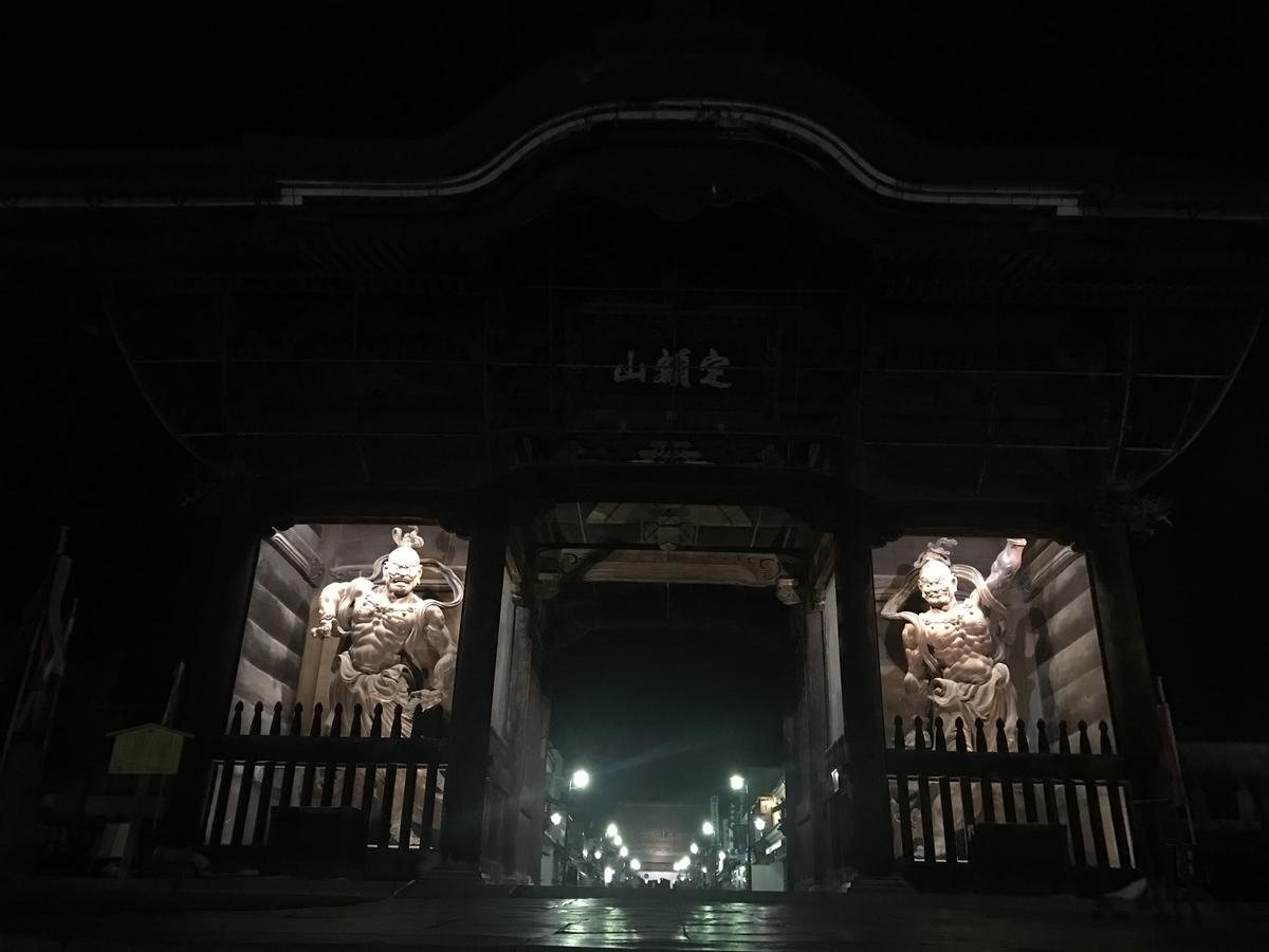 善光寺の仁王像