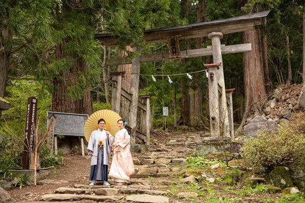 飯山市小菅神社