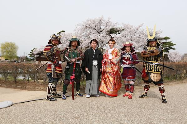 松代城址公園の桜の画像