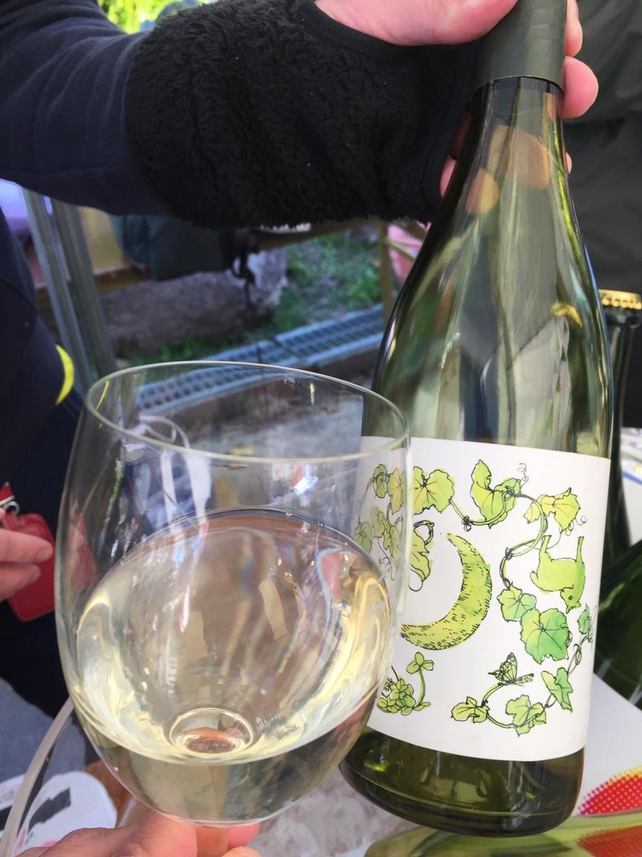 ジオヒルズワイナリーのMIMAKI Chardonnay