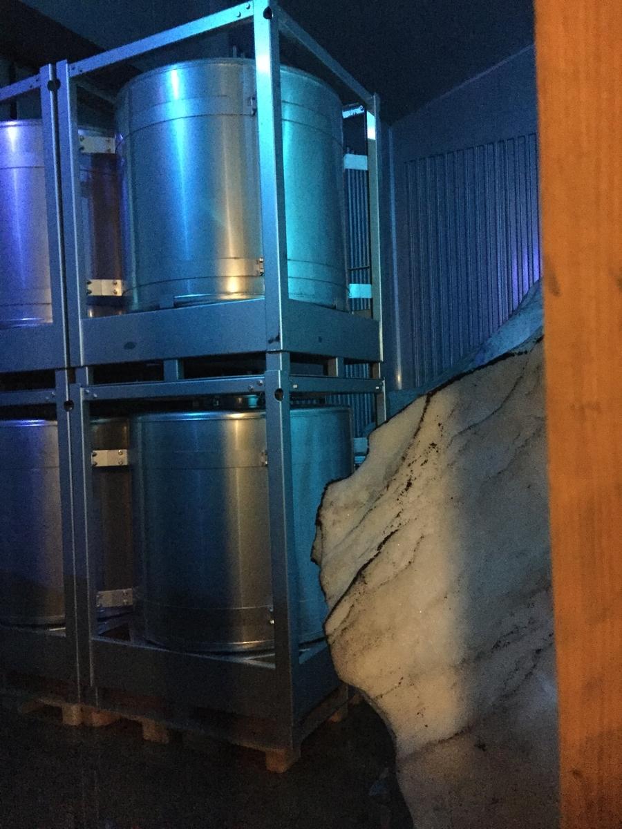 岩の原葡萄園の雪室