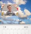 カレンダー空7月