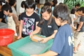 [沖縄][名護][名護博物館][ぶりでぃ子ども博物館]H24① 紙すき講座