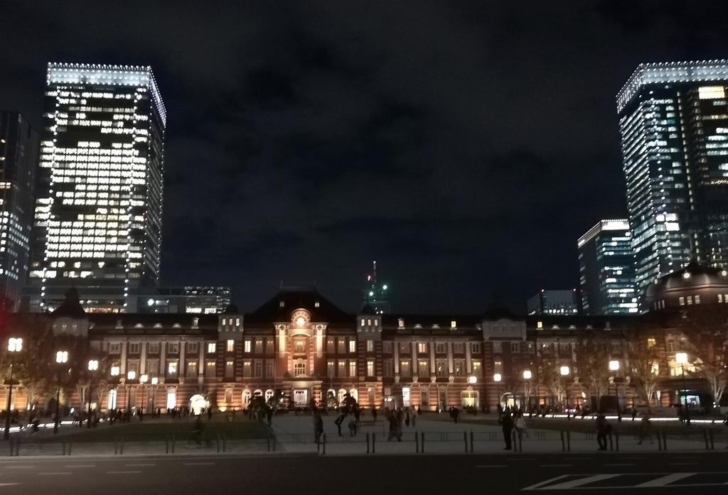 東京駅(正面横から)