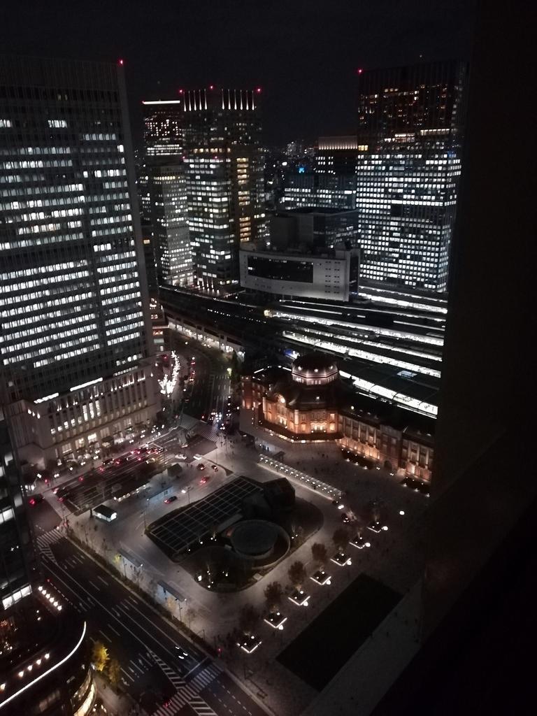 東京駅(斜め上から)