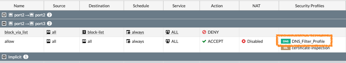 FortiGate ThreatFeeds list import