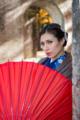 京都新聞写真コンテスト 水路閣の京町娘