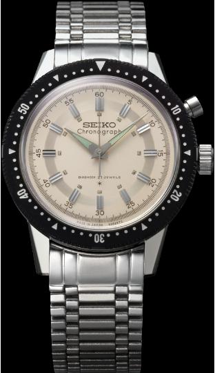 1964年製造国産初となるクロノグラフ腕時計「クラウンクロノグラフ」