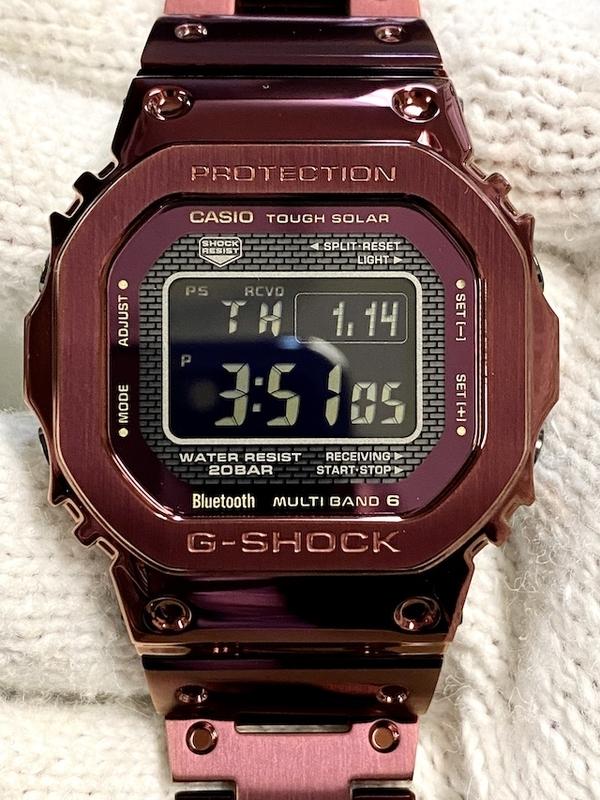 カシオ Gショック GMW-B5000RD-4JF