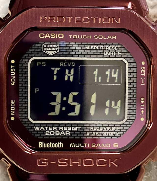 CASIO G-SHOCK GMW-B5000RD-4JF