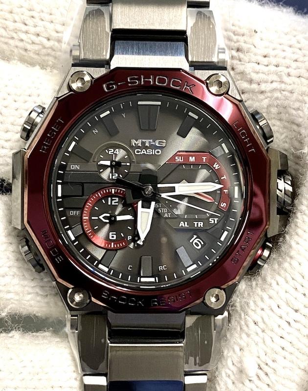 CASIO G-SHOCK MTG-B2000BD-1A4JF