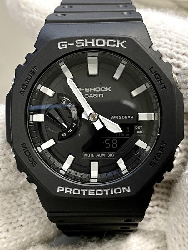 Casio G-SHOCK GA-2100-1AJF