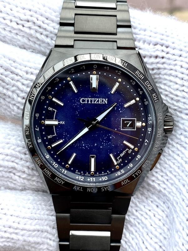 シチズン コズミックブルー CB0219-50L