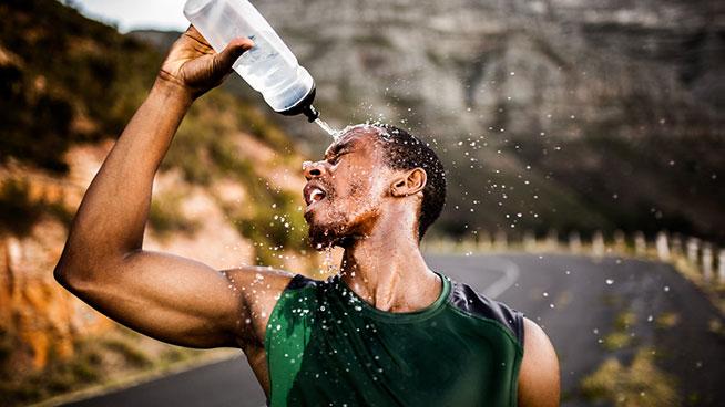 水分補給が無酸素性運動に及ぼす影響