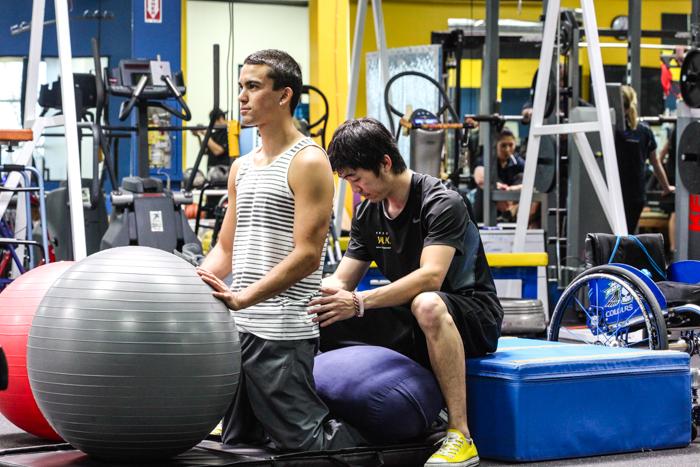 脊髄損傷における身体の目標