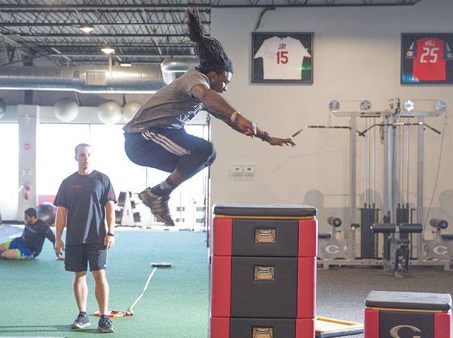 デプスジャンプの応用としてのトレーニング