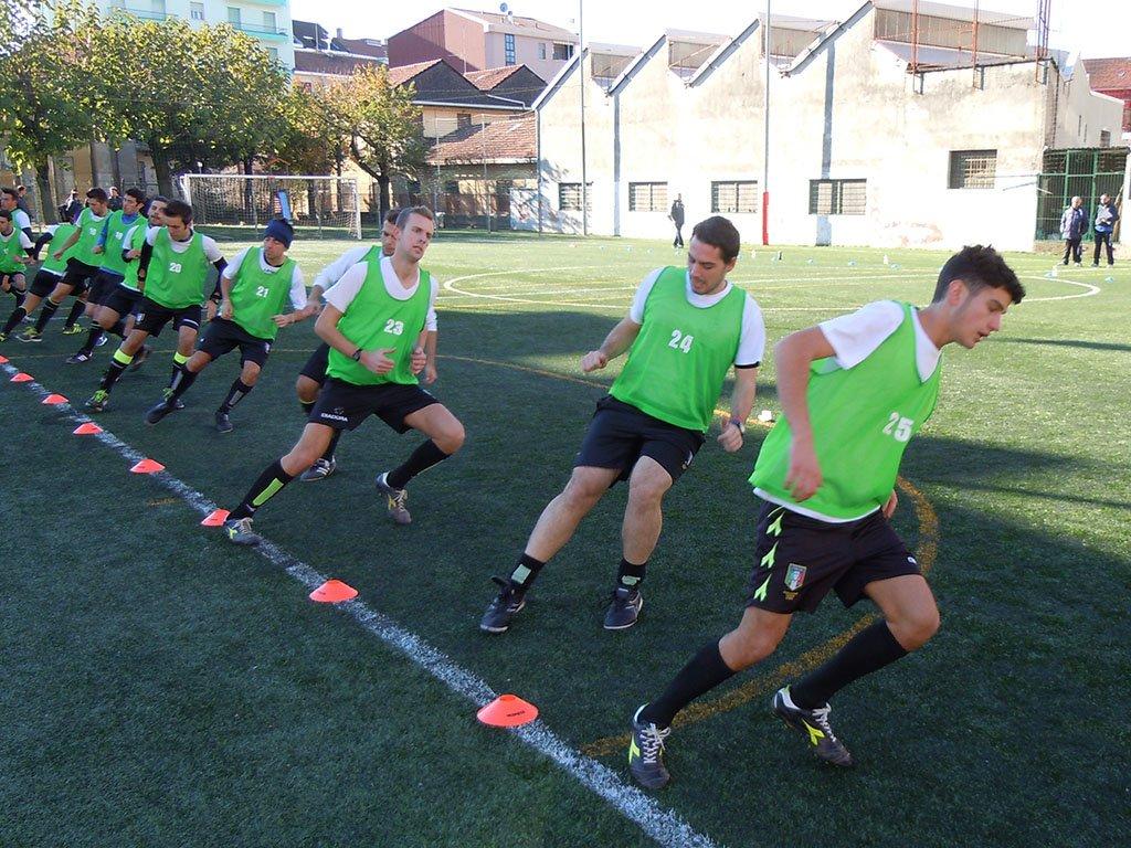 サッカー選手の身体活動