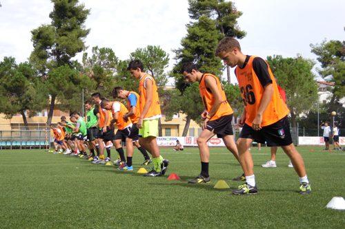 サッカーの指導現場でのYo-Yo IRテスト