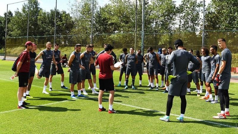 プレシーズン期の準備トレーニング