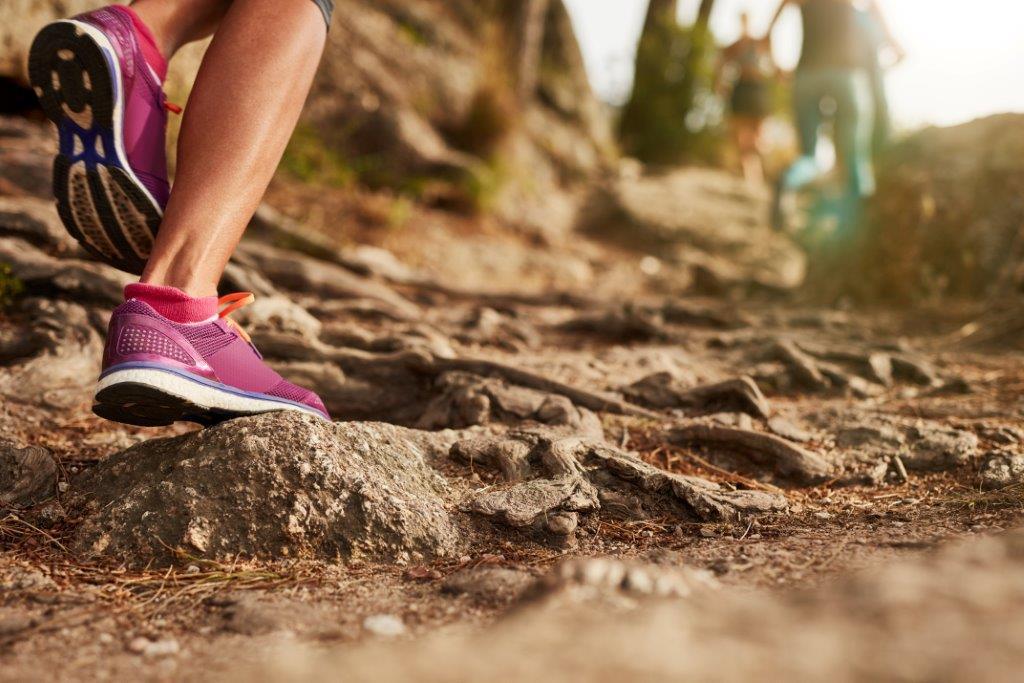 足部回内と下肢キネティックチェーンの機能障害(足部回内状態では、足は体重が乗った際に内側縦アーチを失う、 内側縦アーチは、足部内側の骨、靭帯、および腱で形成されており、足部縦アーチの役割は、足部が地面に接地した際に床反力を分散させる)