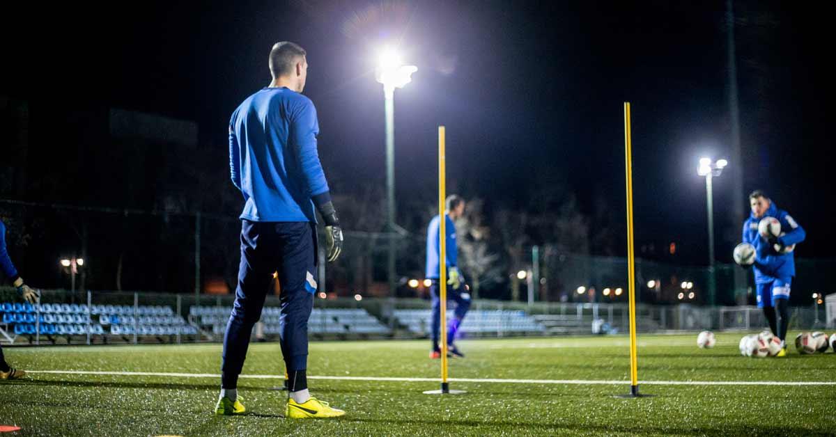 サッカーにおけるトレーニングセッションの例