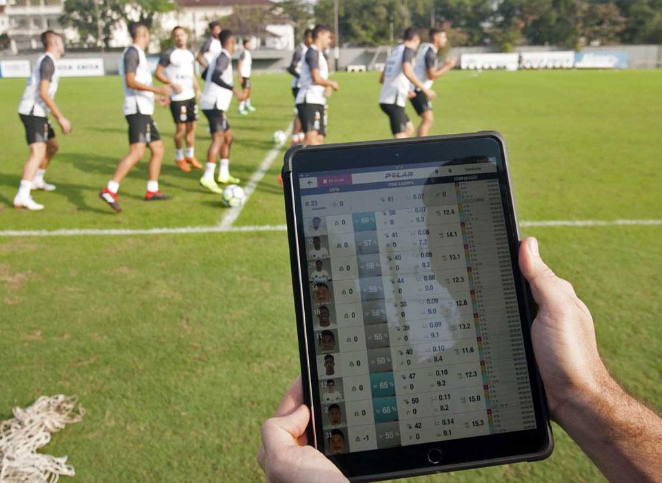 GPS利用に関するサッカーのトレーニング
