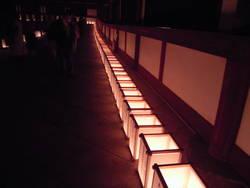 8月15日。東大寺万燈供養。