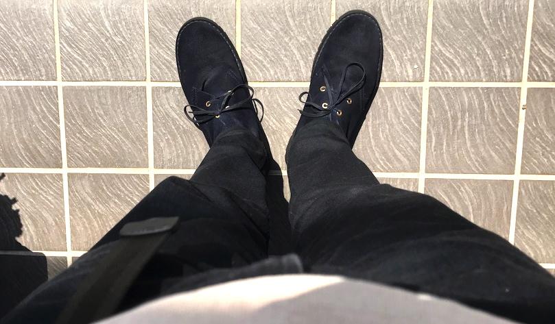 足 ブーツ