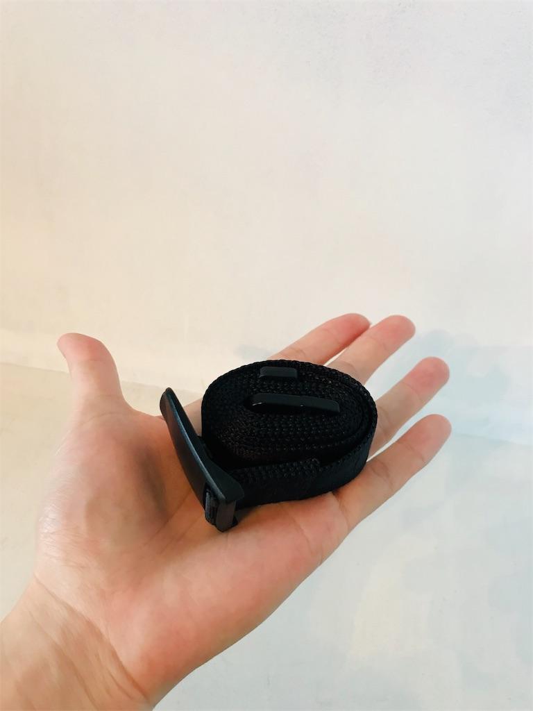 手の平サイズのコンパクトなベルト