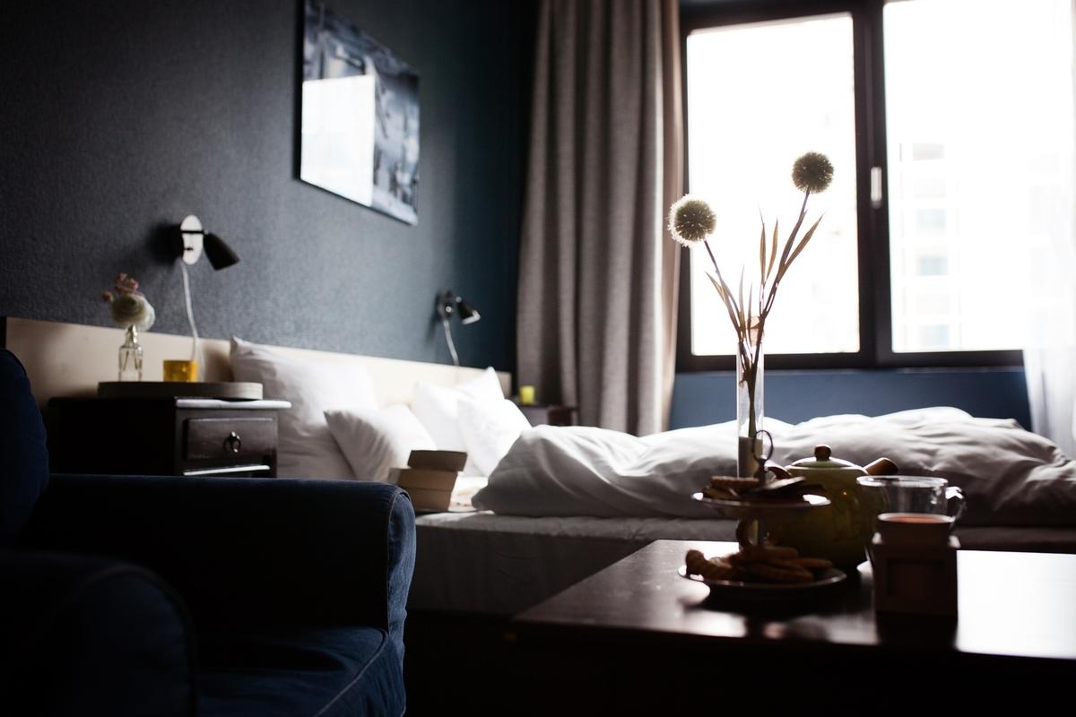 ホテル ホテル客室 ホーム 装飾 リラックス 気分 ルーム ベッド ダブルベッド 観光