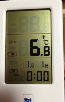 ケージ外最低温度
