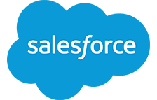 salesforceのロゴ