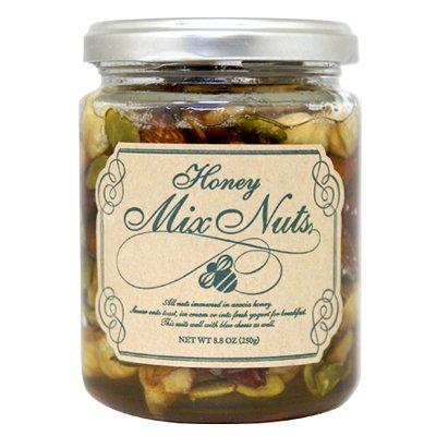 デルタインターナショナル 5種の ナッツ はちみつ 漬け 250g