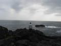 2009/02/15、何を思う三十路男子@城ヶ崎海岸。
