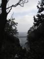 2009/02/15、城ヶ崎海岸の吊り橋。