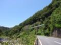 [landscape]夏井川沿いの磐越東線の線路