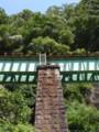 [street][architecture]夏井川沿いの磐越東線の線路