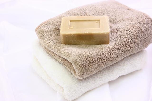 タオルと石鹸