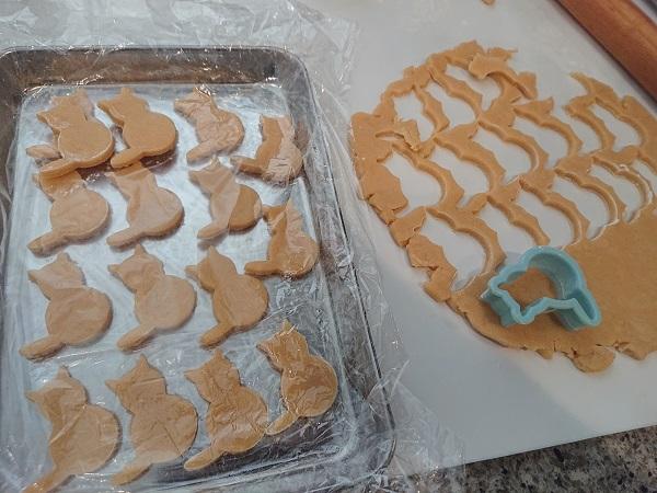 ジンジャークッキー 型抜き
