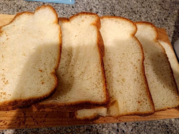 食パンキットで焼いた食パン