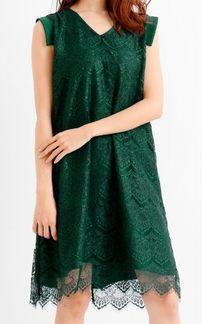 高畑充希ちゃんの衣装のグリーンのワンピース