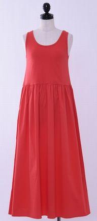 高畑充希ちゃん衣装の赤のワンピース