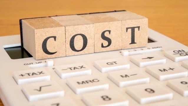 電卓で「COST」を計算